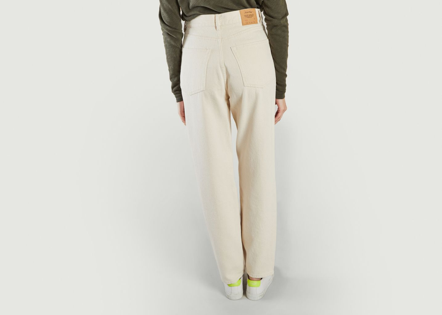 Jean droit taille haute Tineborow - American Vintage