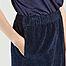 matière Pantalon coupe mom en velours côtelé Padow - American Vintage