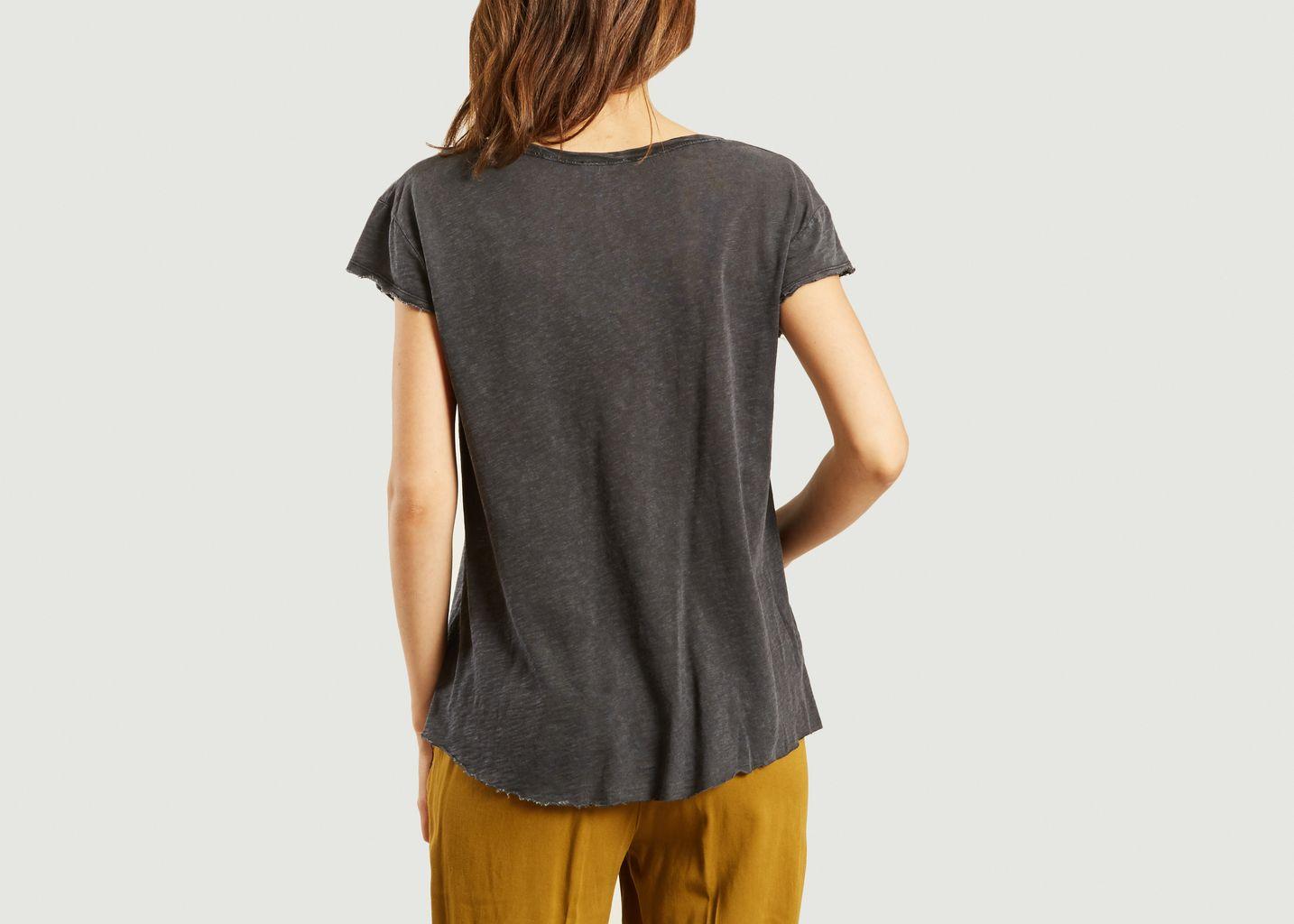 c416b5bc3f3df T-Shirt Lorkford Anthracite American Vintage   L Exception