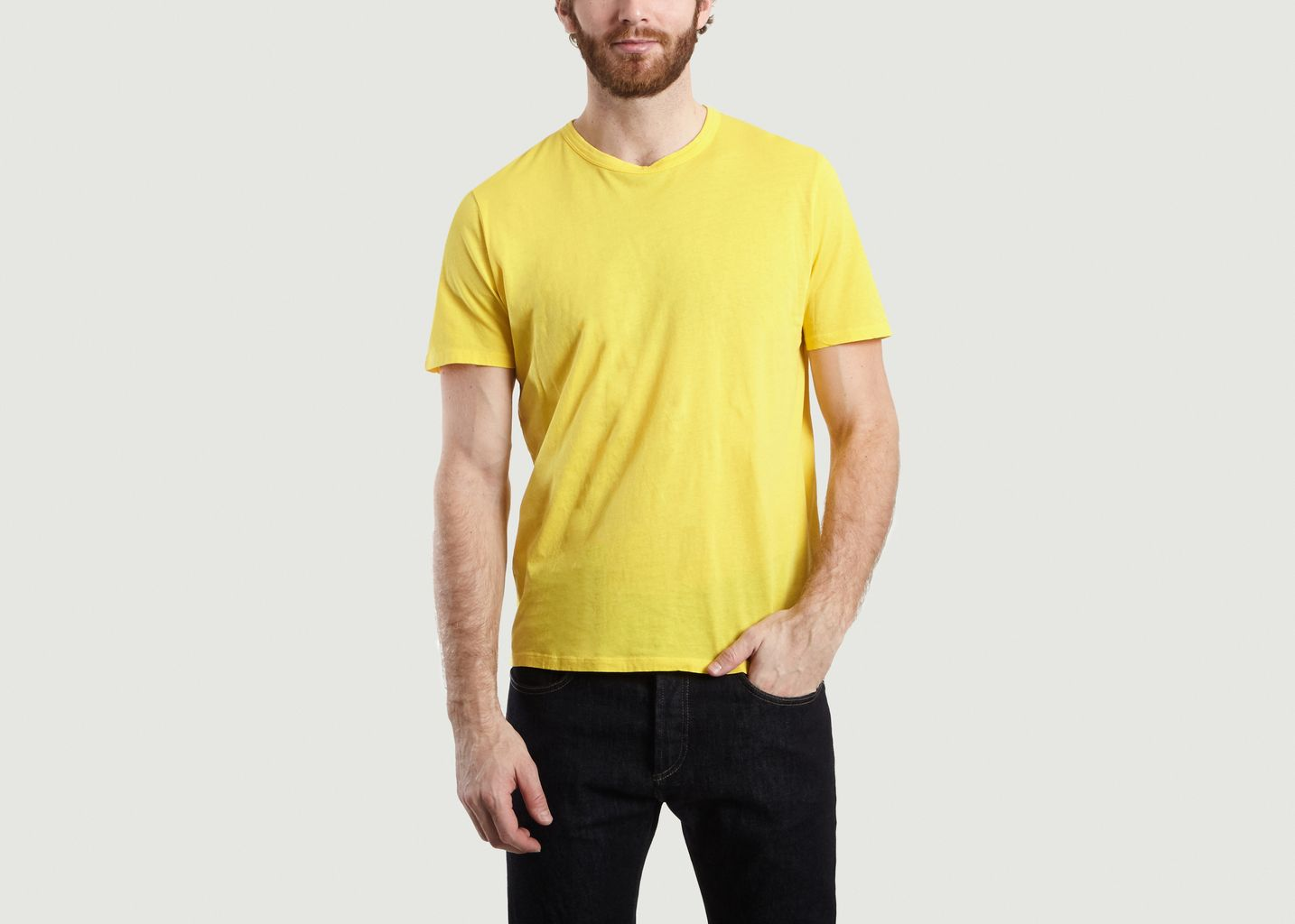 T-Shirt Uni Decatur - American Vintage