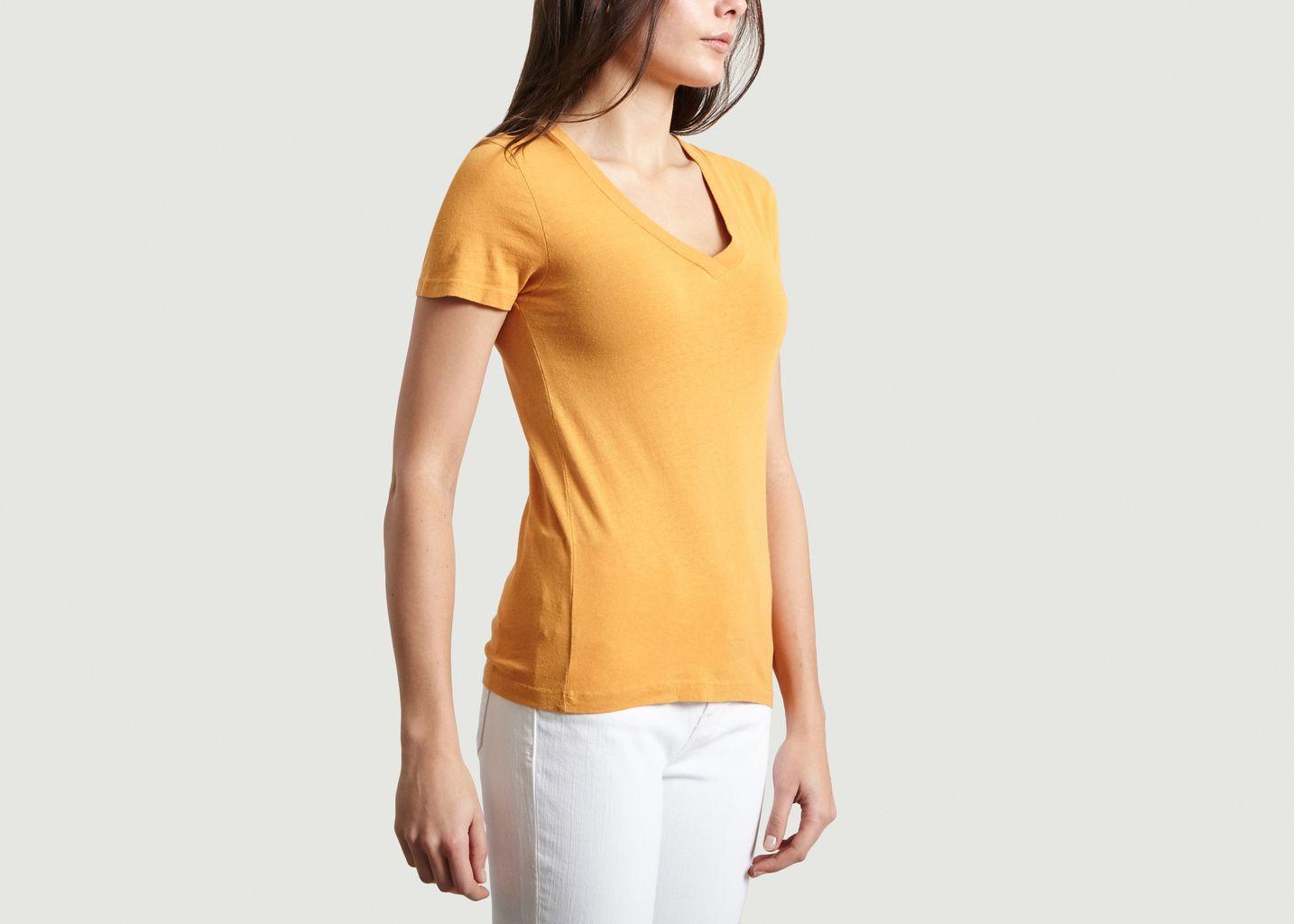 T-Shirt Slim Ixatown - American Vintage