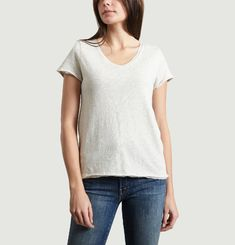 T-Shirt Col V Sonoma