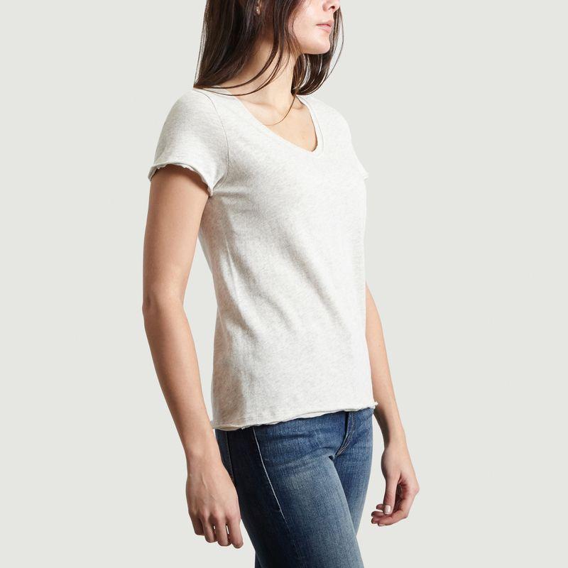 T-Shirt Col V Sonoma - American Vintage