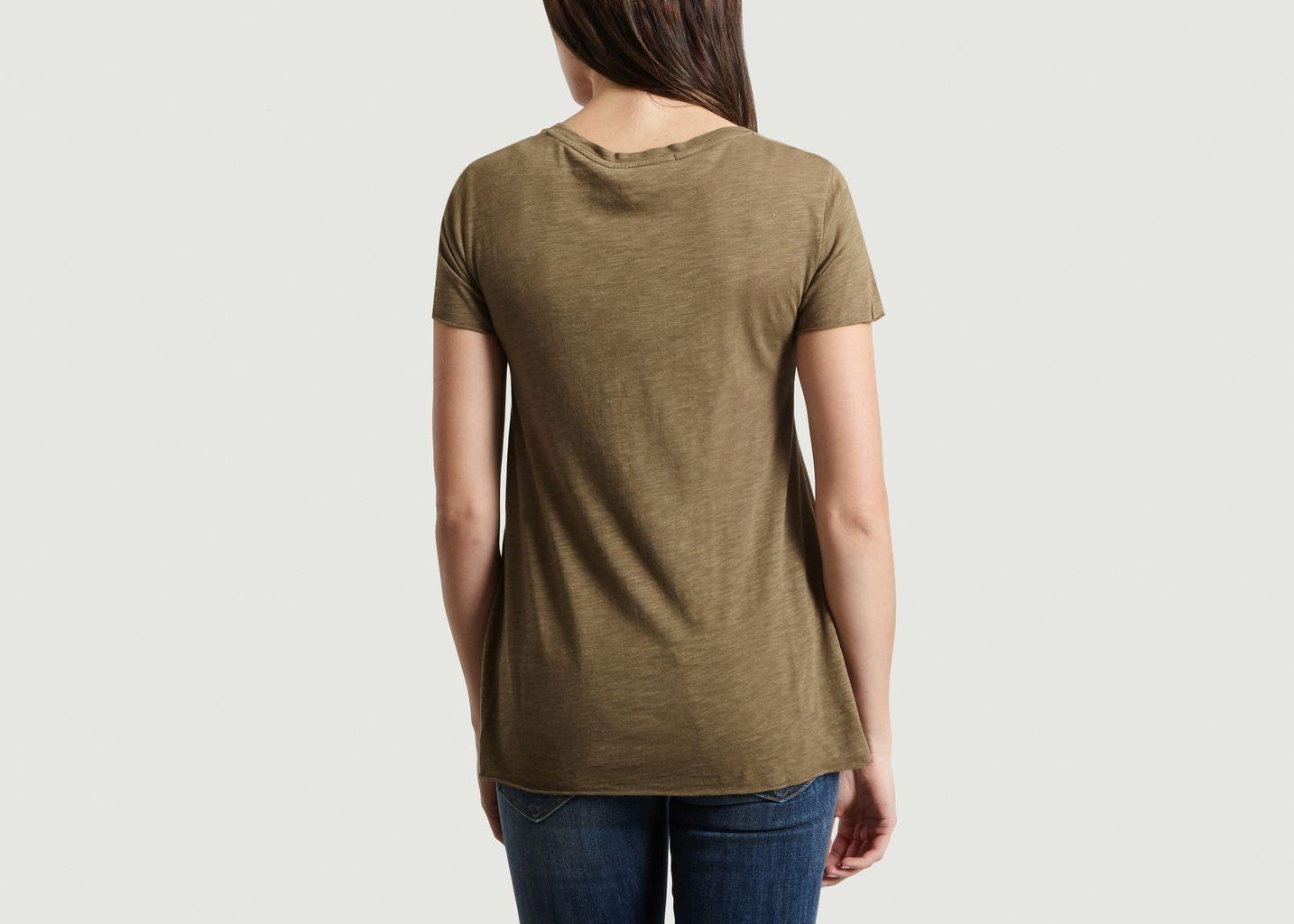 T-Shirt Col V Jacksonville - American Vintage