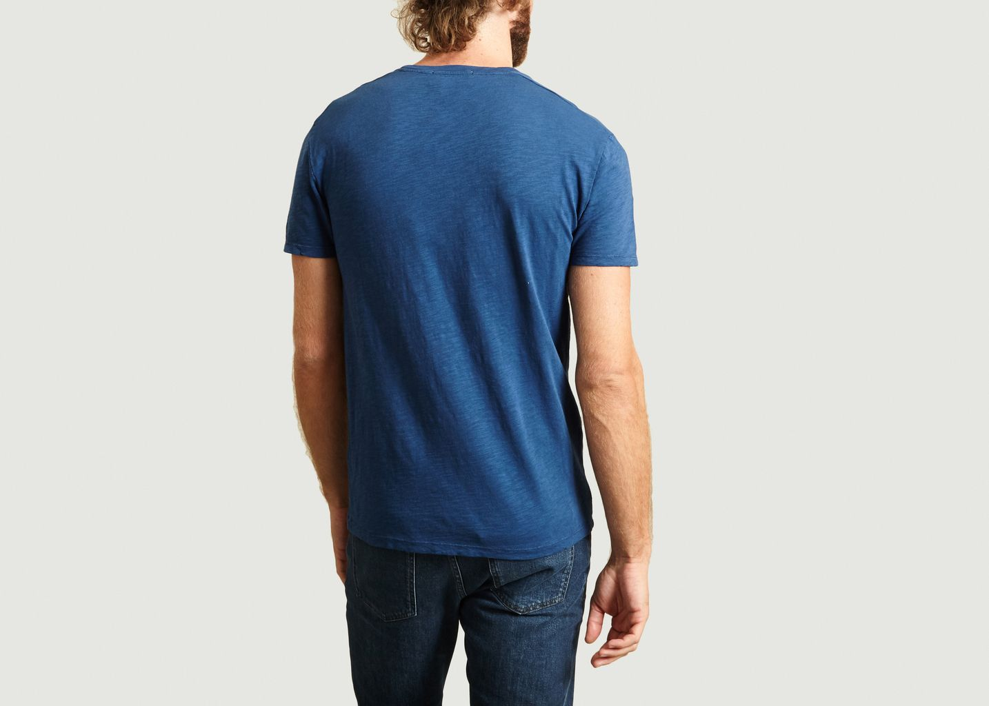 T-Shirt Bysapick Col Rond - American Vintage