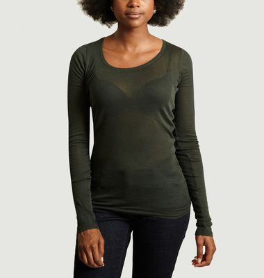 T-Shirt Massachusetts Manches Longues