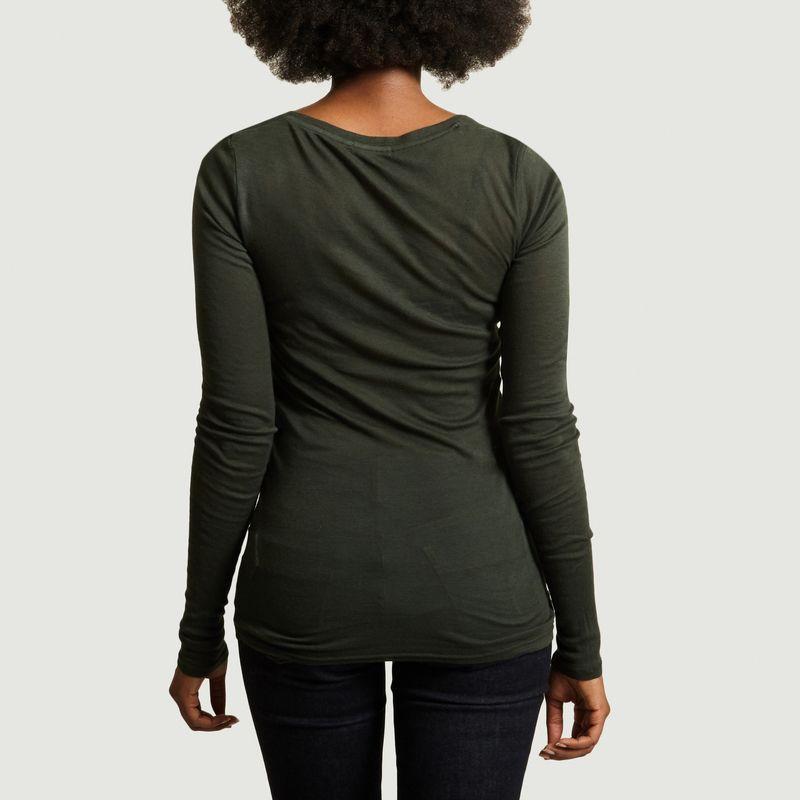 T-Shirt Massachusetts Manches Longues - American Vintage