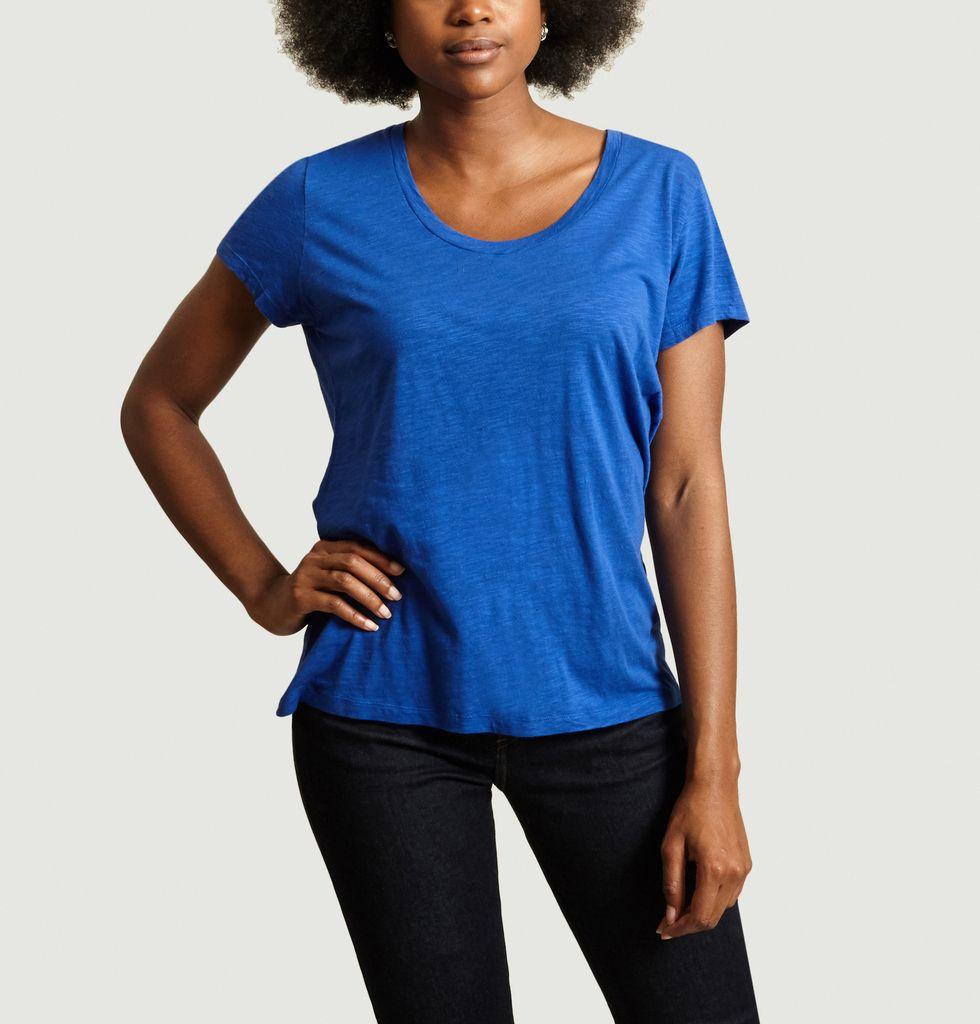 Roi Jacksonville En Col VintageL'exception American Bleu U T Shirt F3JTl1uKc