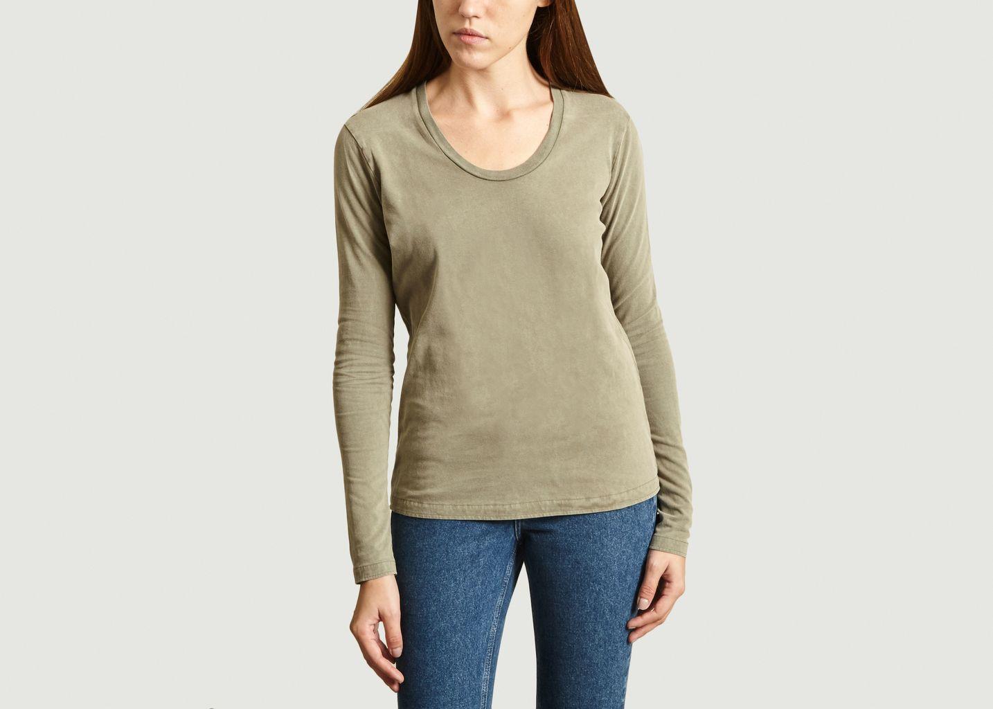 T-Shirt Manches Longues Fuzy - American Vintage