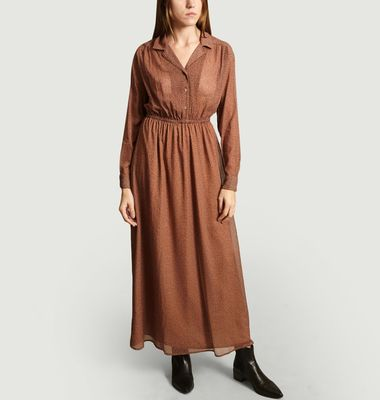 Robe-Chemise Manches Longues Inostate