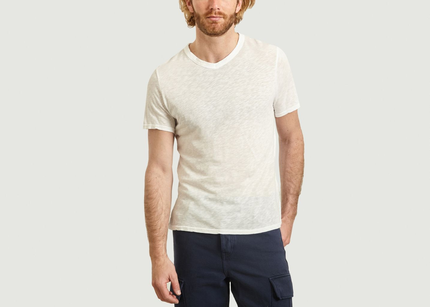 T-shirt Lorkford en coton flamé - American Vintage
