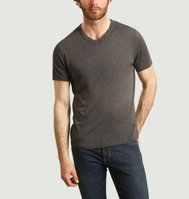 T-shirt Lorkford en coton flamé
