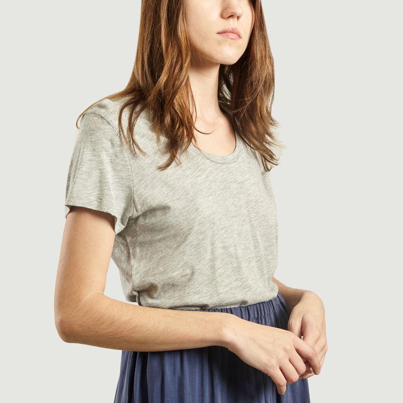 T-Shirt Jacksonville Coton Flammé  - American Vintage