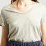 matière T-Shirt Jacksonville Coton Flammé  - American Vintage