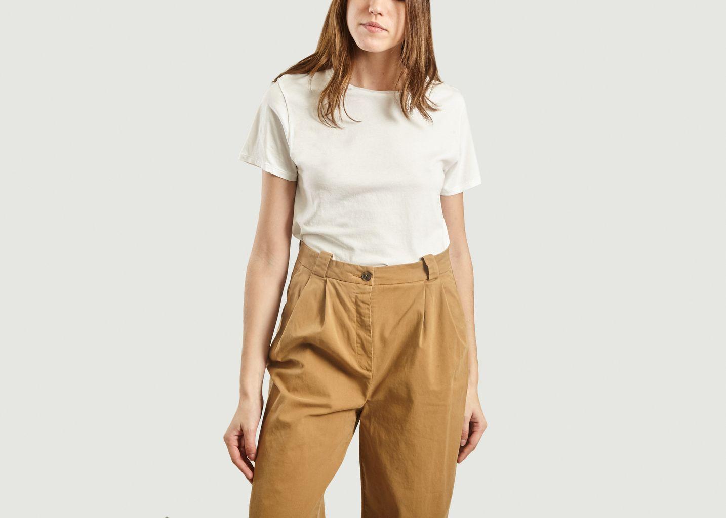 T-Shirt Vegiflower Coton Bio - American Vintage