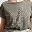 matière T-Shirt Vegiflower Coton Bio  - American Vintage