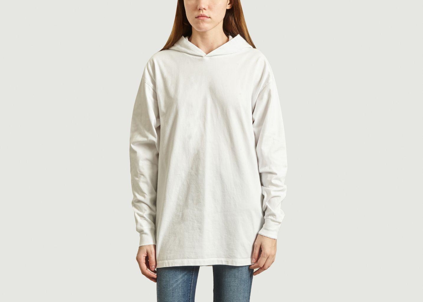 T-Shirt Fizvalley à Capuche - American Vintage