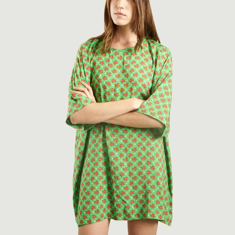 Robe Courte Belabay Imprimée Maddy - American Vintage