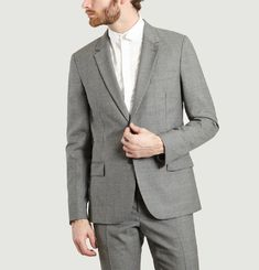 Double Button Suit Jacket