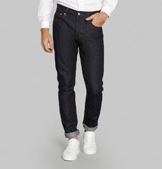 Slim Fit 5 Pocket Jeans