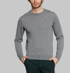 AMI Embroidered Jumper