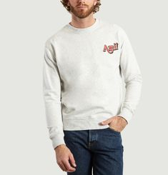 AMI Embroidered Sweatshirt
