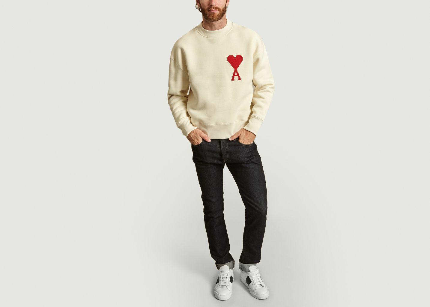 Sweatshirt Big Ami de Coeur - AMI Alexandre Mattiussi