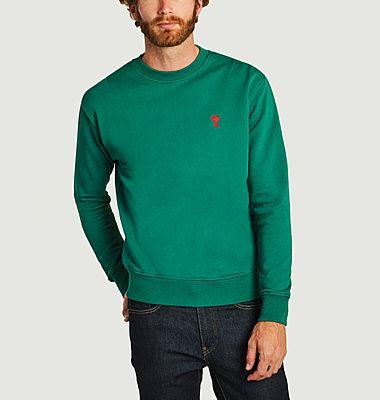 Sweatshirt Embroidery Ami De Coeur