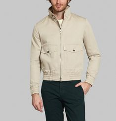 Harrington Collar Jacket