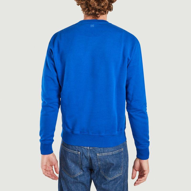 Sweatshirt AMI de coeur en coton biologique  - AMI Paris