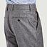 matière Pantalon Carotte à plis - AMI Paris