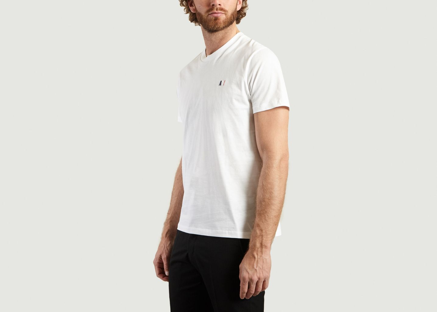 T-Shirt Brodé AMI - AMI Alexandre Mattiussi
