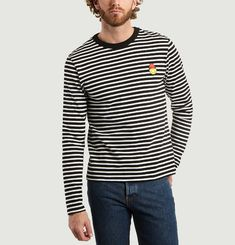 Smiley Sailor Stripe T-Shirt