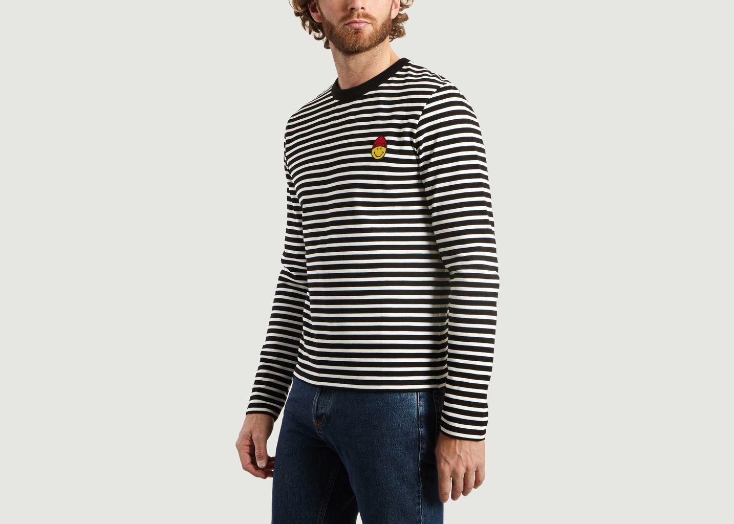 T-Shirt Patch Smiley - AMI Alexandre Mattiussi