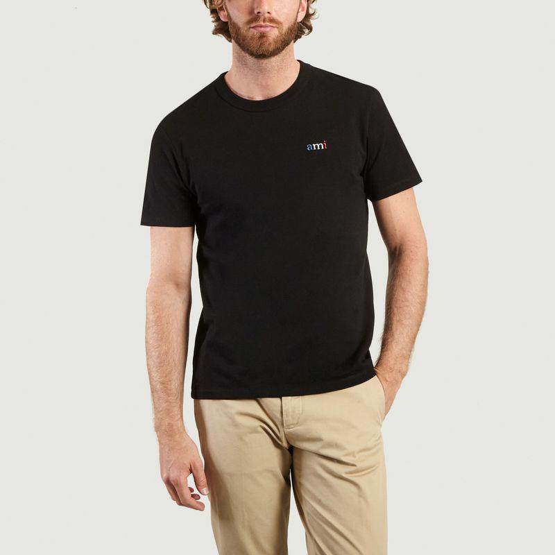 T-Shirt Broderie Ami BBR - AMI Paris