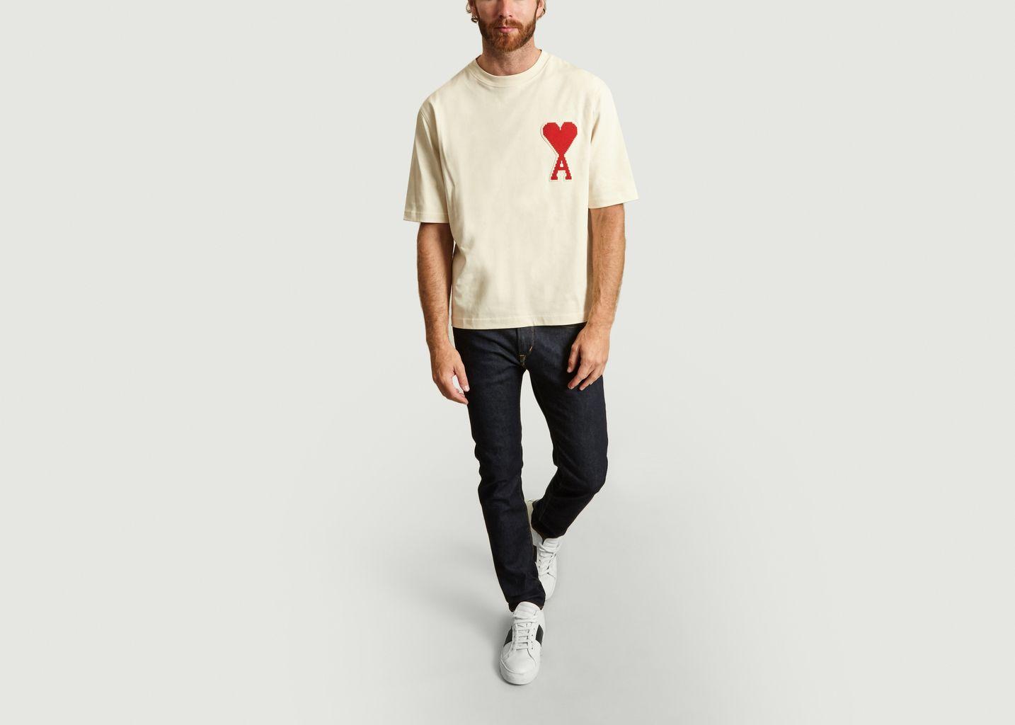 T-shirt Broderie Big Ami - AMI Alexandre Mattiussi