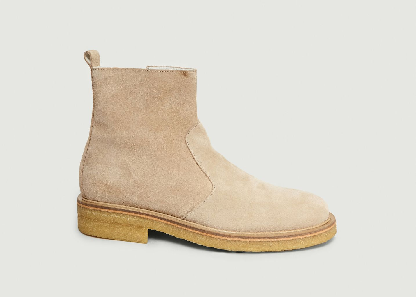 Ami Fourrées Mattiussi Soldes 40 L'exception Boots Beige Alexandre À wft1Oq