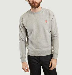 Sweatshirt Logo Heart Cotton