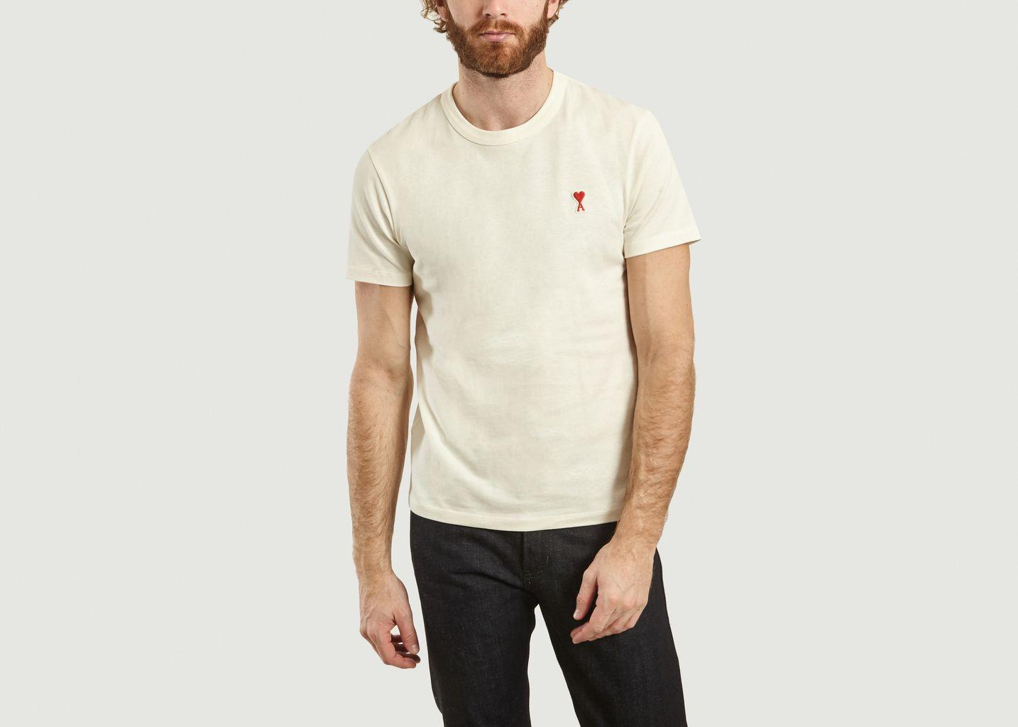 T-Shirt Ami De Coeur  - AMI Alexandre Mattiussi
