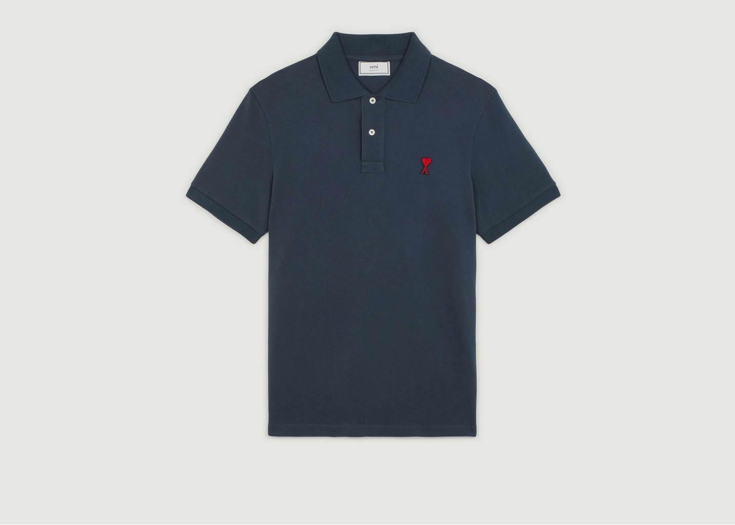 Polo Jersey Coton Ami de Coeur - AMI Alexandre Mattiussi
