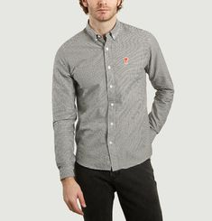 Oxford Shirt With Logo And American Collar
