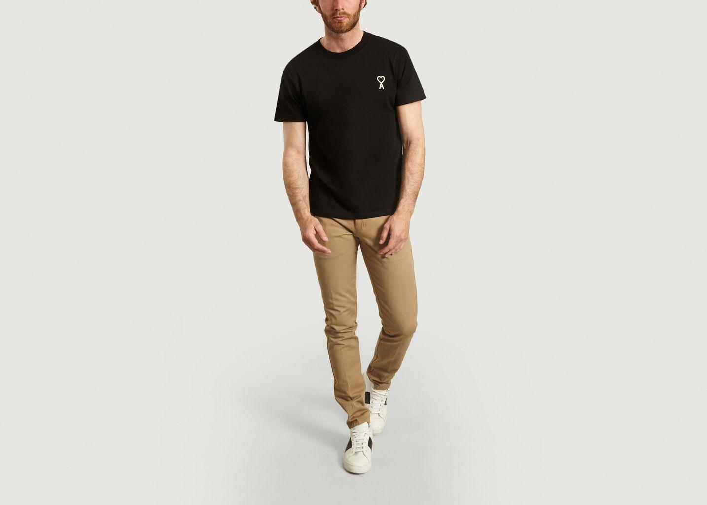 T-Shirt Ami de Coeur Chainette - AMI Paris