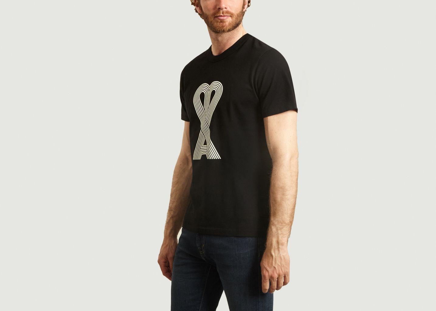 T-shirt Ami de Coeur linéraire - AMI Paris