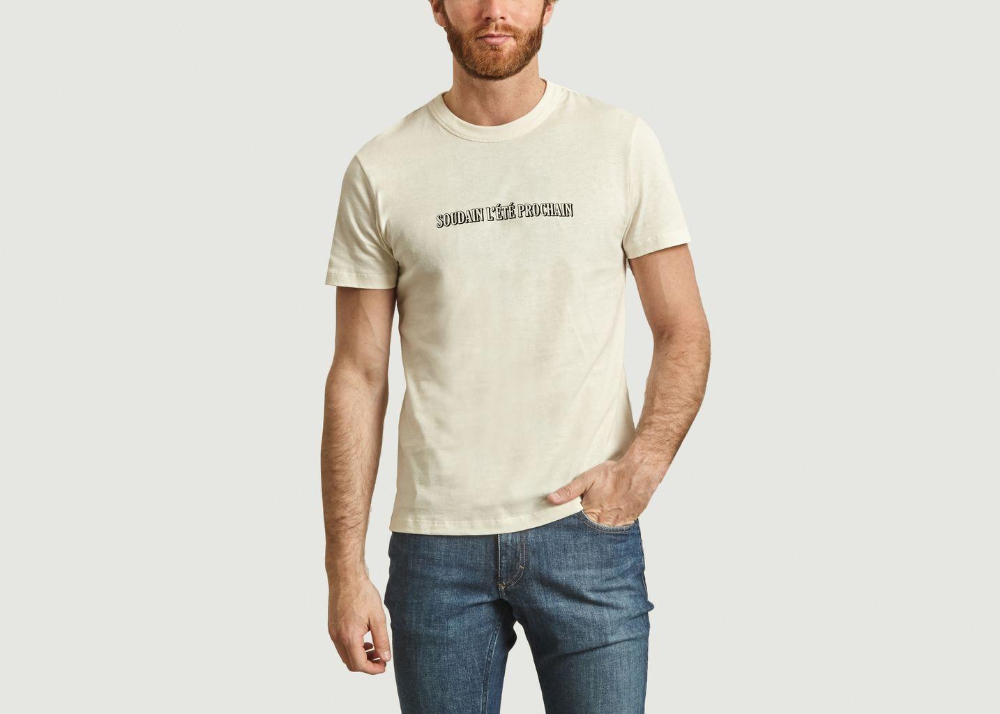 Tshirt en coton biologique soudain l'été prochain - AMI Alexandre Mattiussi