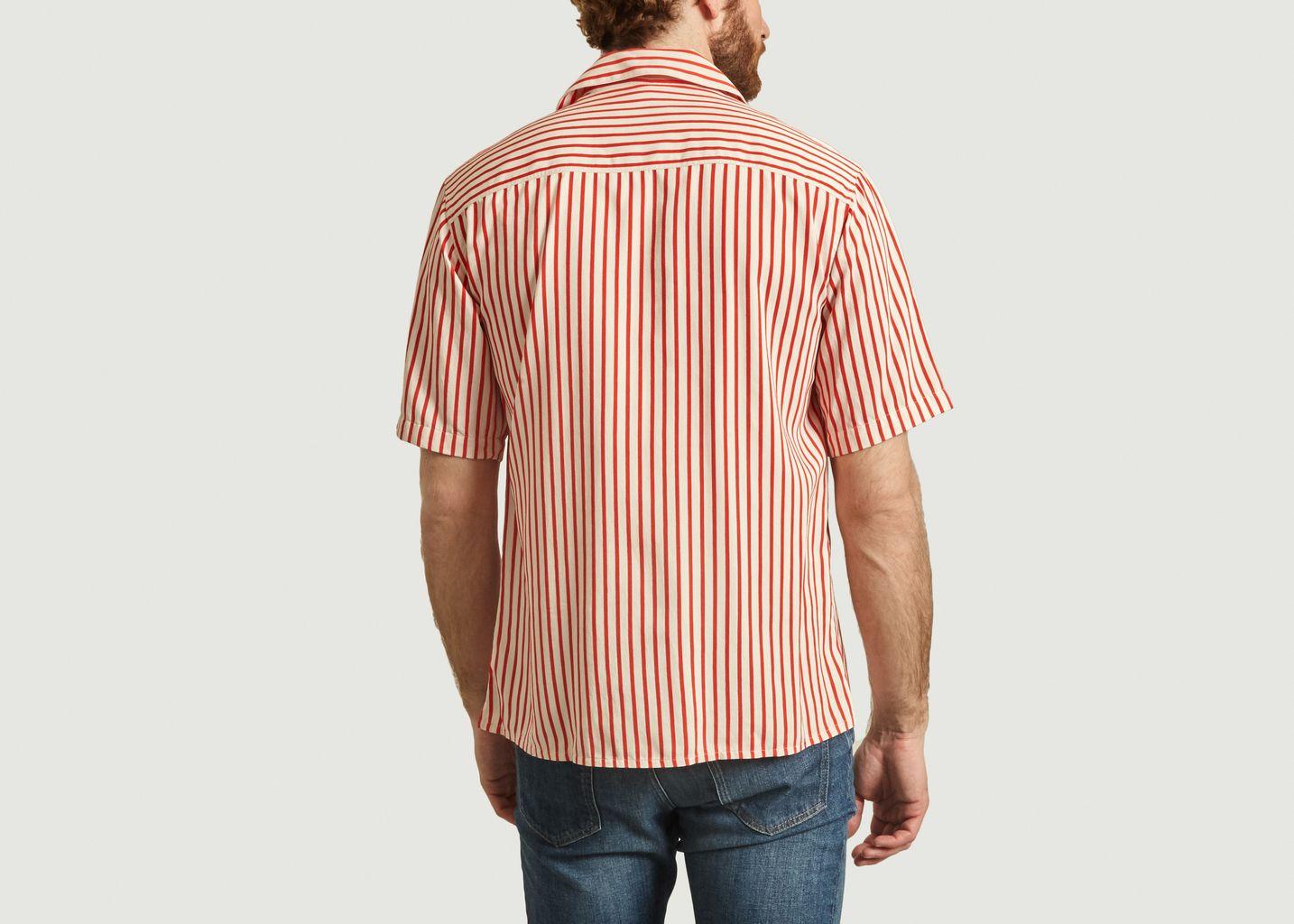 Chemise rayée manches courtes - AMI Alexandre Mattiussi
