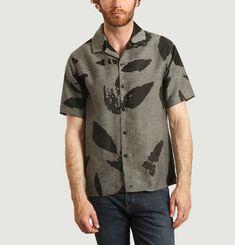 Feather jacquard shirt