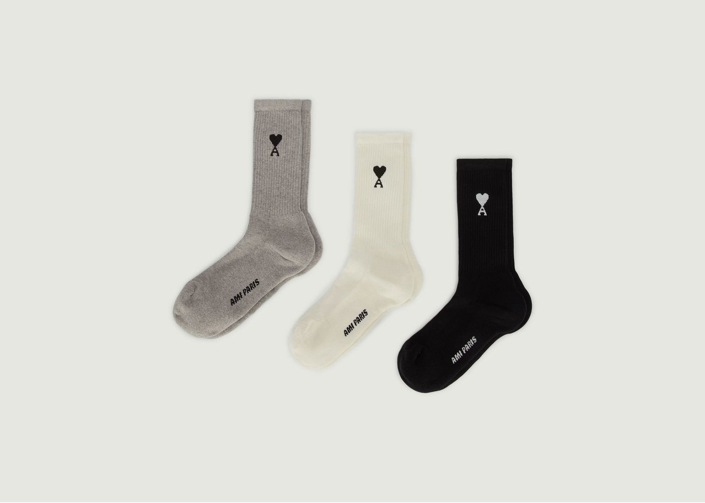 Pack de 3 chaussettes Ami de Coeur - AMI Paris