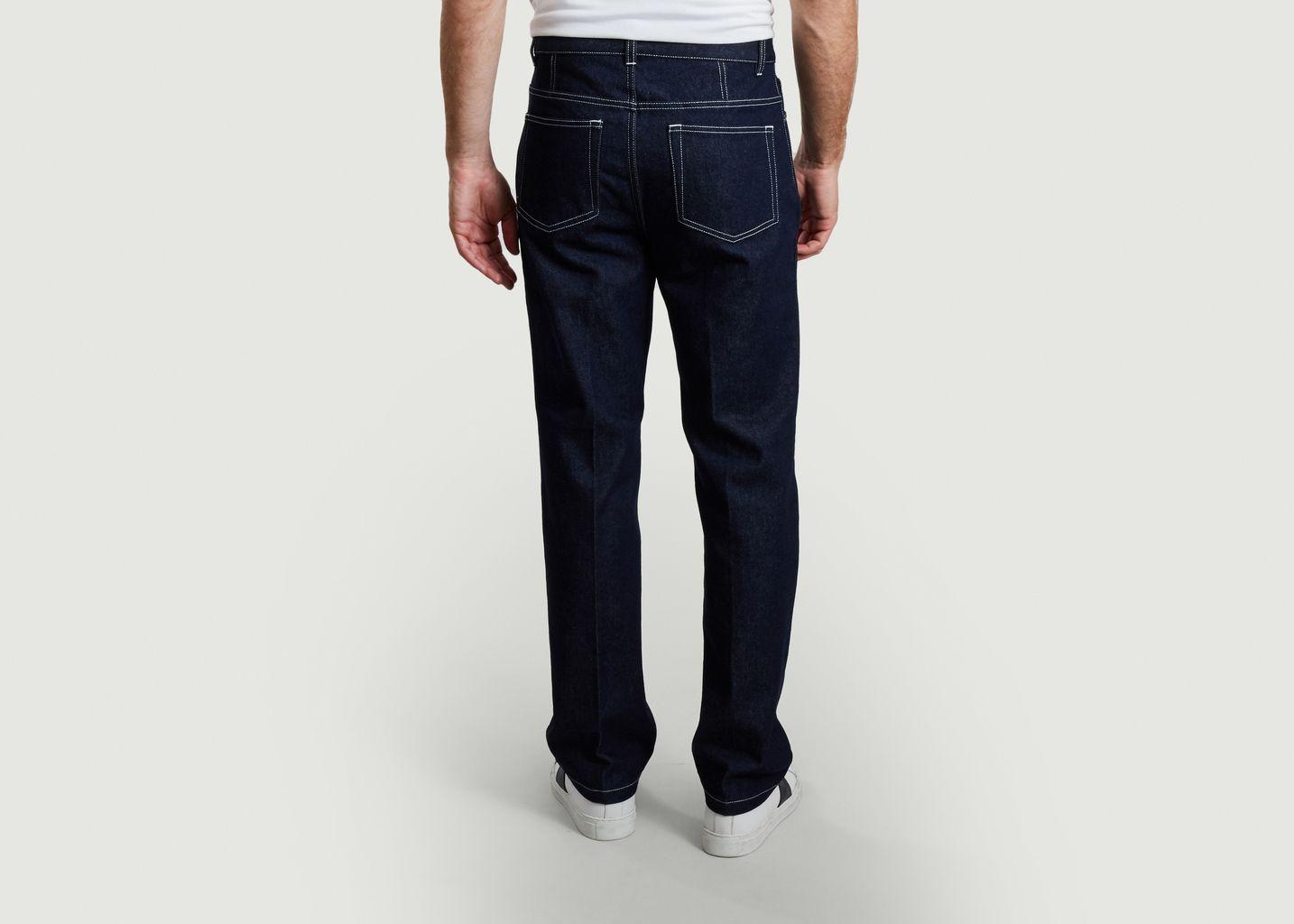 Pantalon droit en denim japonais - AMI Paris