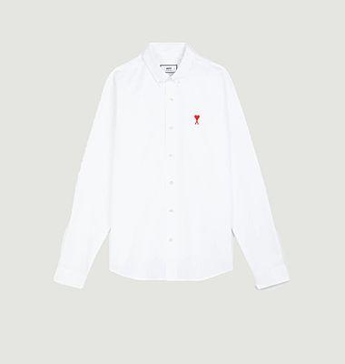 Chemise siglée en coton Oxford Ami De Cœur