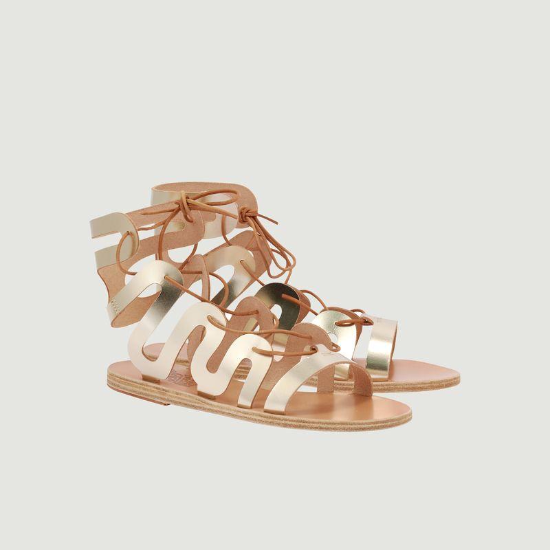 Sandales en cuir à lacets Clelia - Ancient Greek Sandals